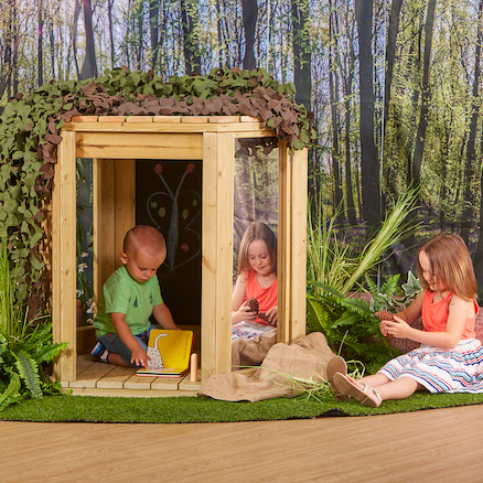 Outdoor Wooden Pod  large
