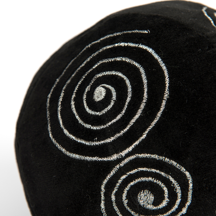 Black and White Soft Sensory Activity Balls 4pk  large
