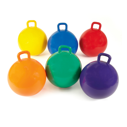 Rainbow Space Hoppers  large