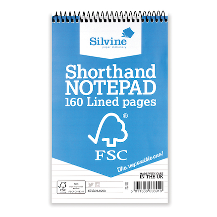 FSC Shorthand Spiral Notebook  large