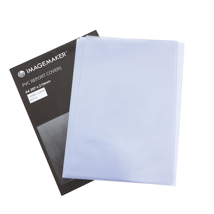 Clear Covers PVC A4 Box 100  large