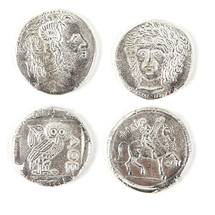 Replica Ancient Greek Coins 4pk  large