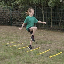 2 in 1 Agility Ladder and Hurdle  medium