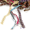 Assorted Sparkling Jewelled Indian Fringe 10 x 2m  small