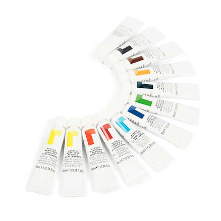 Reeves Acrylic Paint Tubes Assorted 10ml  large
