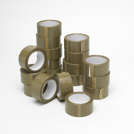 Brown Parcel Tape Rolls 50mm x 66m  large