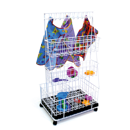 Wet Play Trolley and Storage Baskets  large
