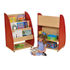 Double Sided Mobile Bookcase  small