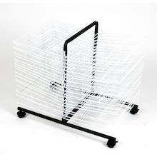 40 Shelf Mobile Drying Rack  medium