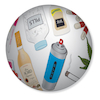 Medicines, Drugs And Solvents Talk Ball  small