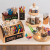 Wooden Table Top Storage Range  small