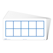 Ten Frames Write & Wipe Flash Cards  medium