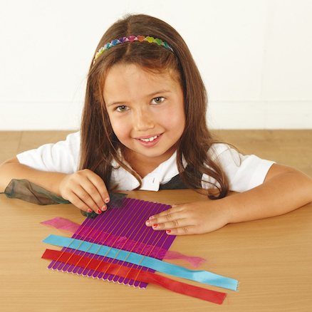 Coloured Weaving Cards 150 x 225mm 20pk  large