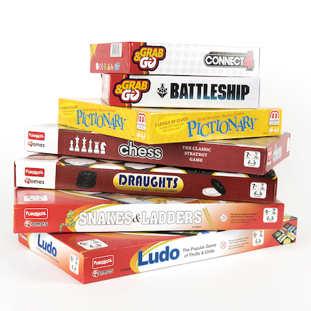 Wet Play Board Games Pack  large