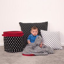 Baby Black and White Soft Furnishing Collection  medium