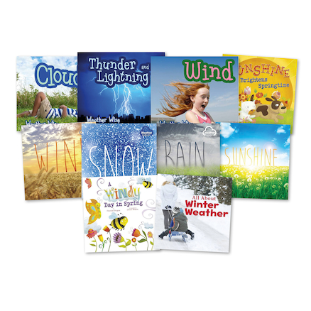Weather Types Books 10pk  large