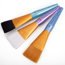 Jumbo Flat Brush Set 3pk  medium
