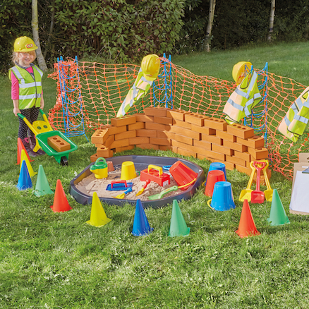 Role Play Construction Site Play Set  large