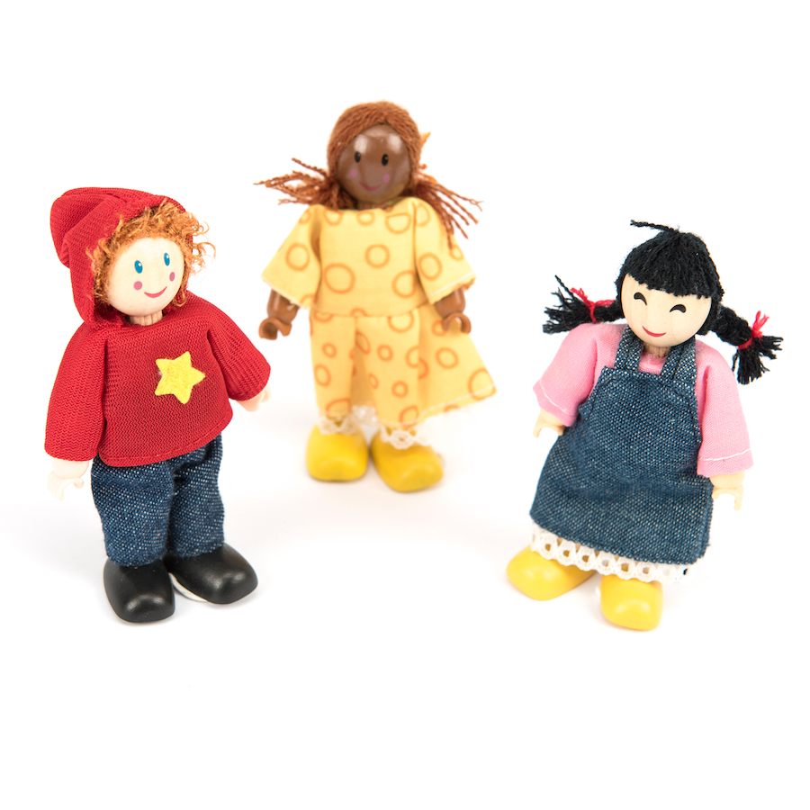 Buy Small World Multicultural Family Figures Doll Set