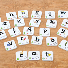 Talking Alphabet Recordable Cards  medium