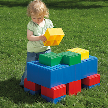 Jumbo Plastic Building Blocks 26pcs  medium