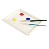 Shallow White Plastic Inking Tray  small