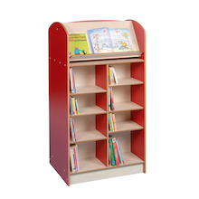 Double Sided Bookcase Height 1500mm  medium
