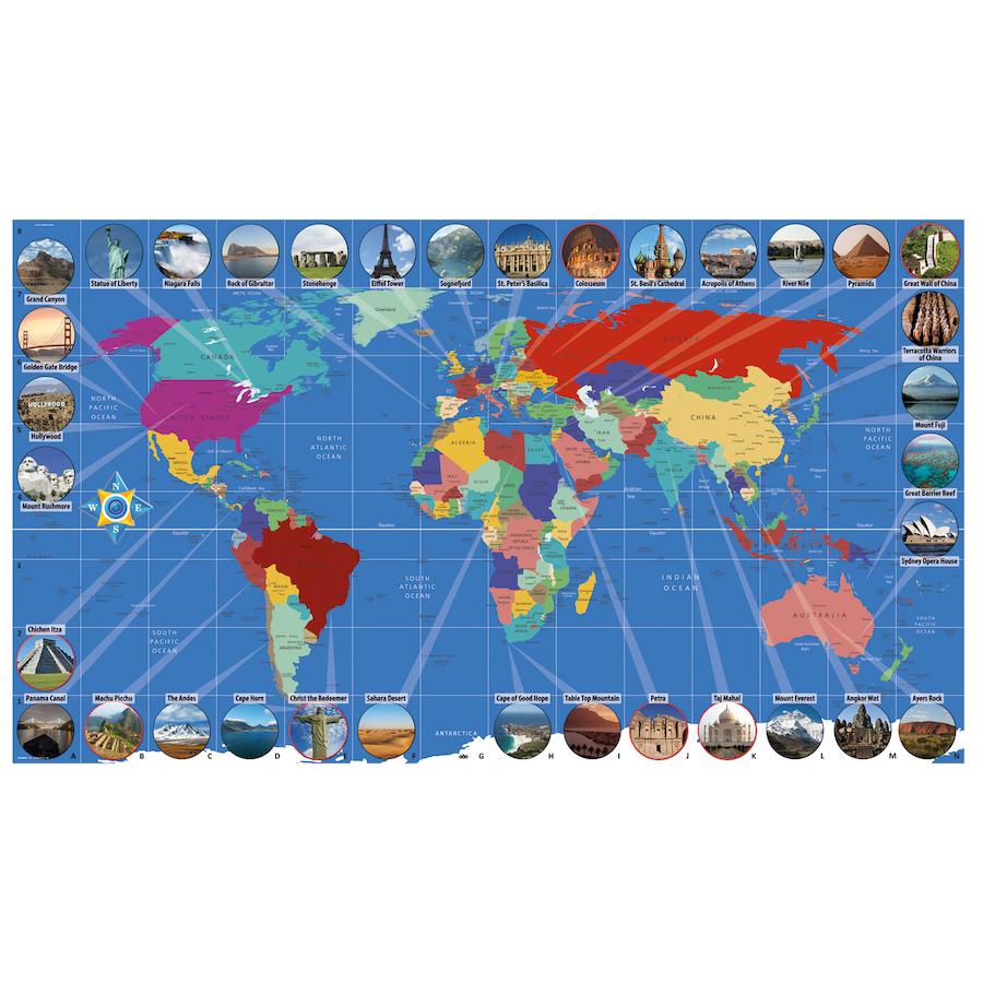 E Commerce Site Map: Buy World Landmarks Map Signboards