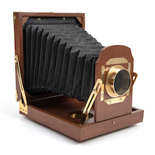 Victorian Retractable Box Camera  medium