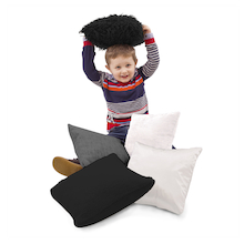 Black and White Sensory Cushions  medium
