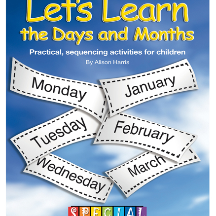 Lets Learn The Days And Months Activity Book  large