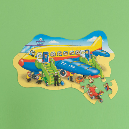 Big Transport Illustrated Jigsaw Puzzle  large