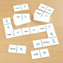 End Consonant Dominoes Game  medium
