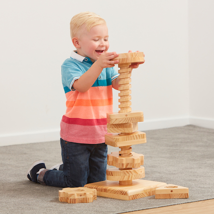 Motor Skills Twist and Turn Tall Tower  large