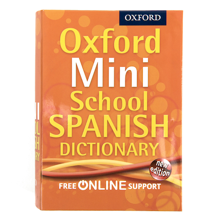 Oxford Mini School Spanish Dictionary  large