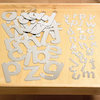 Double Sided Alphabet Mirrored Letters 26pk  small