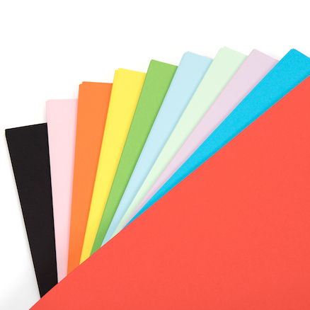 Drawing Paper Assorted 80gsm 500pk  large