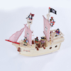 Small World Pirate Ship and Accessories  small