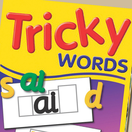 Tricky Word Magnets  large