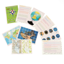 Thinking... Maps and Mapping Skills Cards  medium