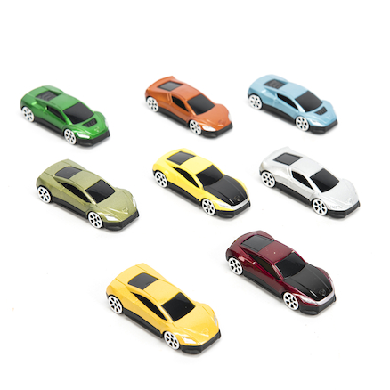 Forces Racing Cars 8pk  large
