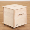 Wooden Creative Crate with Blocks  small