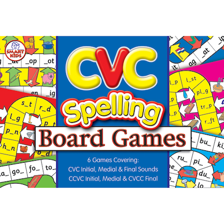 Set of 6 CVC Board Games  large