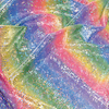 Rainbow Coloured Display Fabric 1m  small