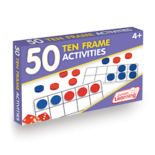 50 Ten Frame Activities  medium