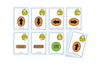 Spanish Bee\-Bot Cards  small