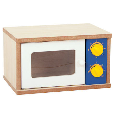 Role Play Wooden Kitchen Set Microwave  large