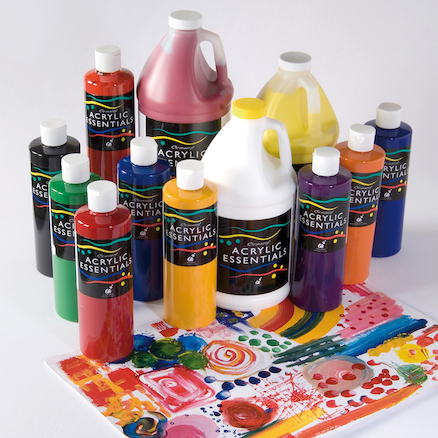 Chromacryl Acrylic Essentials Paint  large