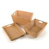 Faux Wicker Plastic Baskets  small