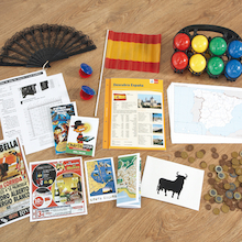 Spanish Country And Culture Artefacts Pack  medium